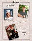 Senior portrait brochure