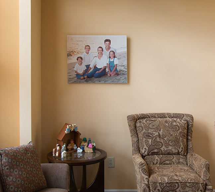 Family heirloom portrait
