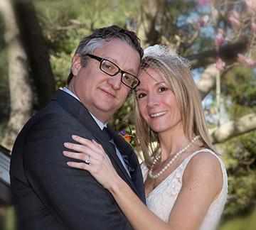 2nd wedding couple photo