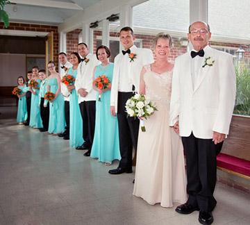 2nd wedding group photo