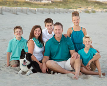 Beach portrait - client testimonial for Bruce Lovelace - The Traveling Photographer