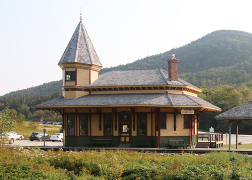 Crawford Train Depot New Hampshire - Summer
