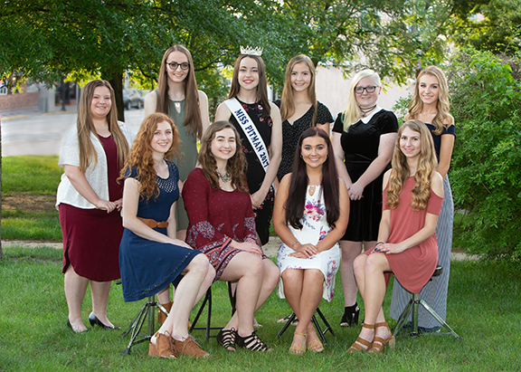 Miss Pitman Pageant Group Photo 2018