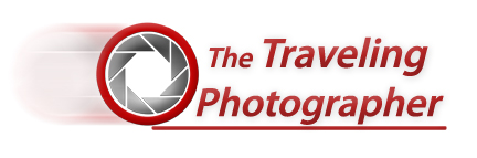 The Traveling Photographer Logo - Pitman NJ