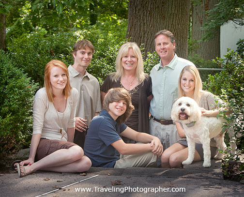 Family portrait wenonah New Jersey