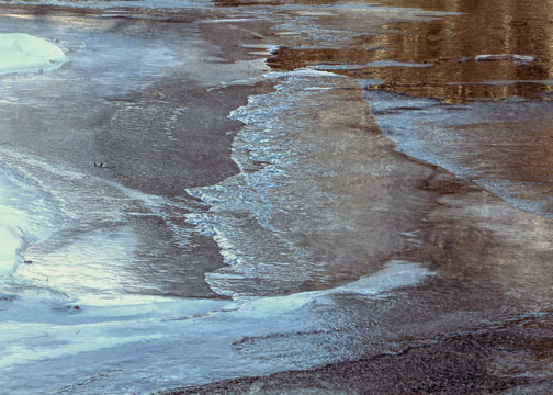 Frozen Saco River - Bartlett NH - Bruce Lovelace