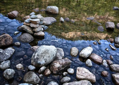 Saco River -Barltett NH - Bruce Lovelace