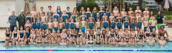 Swim Team Photo