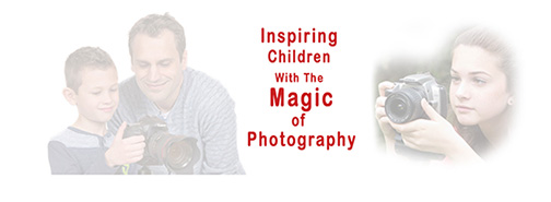 kids photo workshop banner