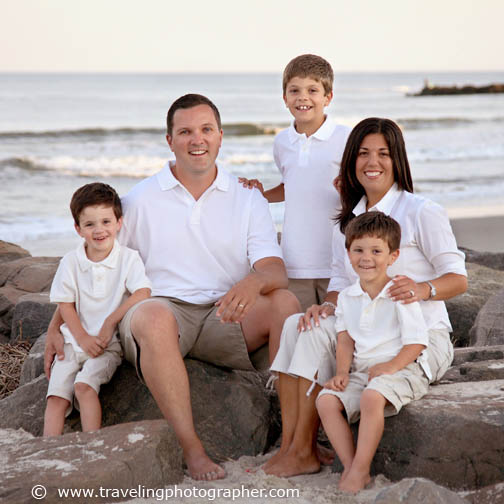 South Jersey Family beach portrait photography