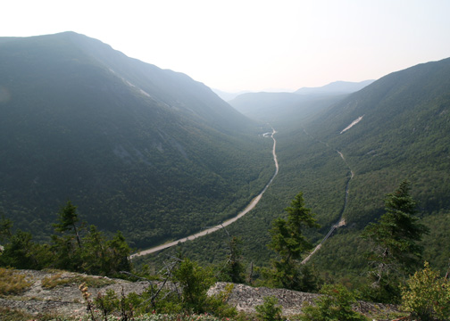 Crawford Notch View From Mt. Willard Trail by The Traveling Photographer