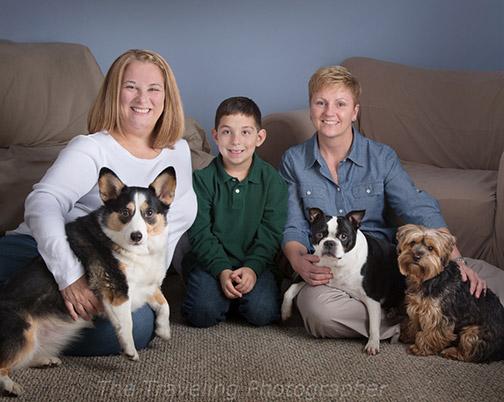 Family portrait example