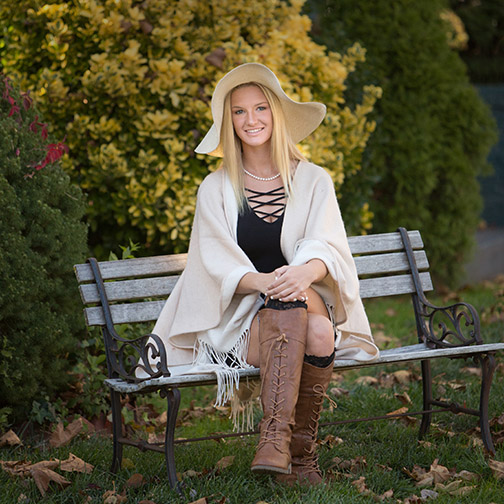 senior portrait location Pitman NJ