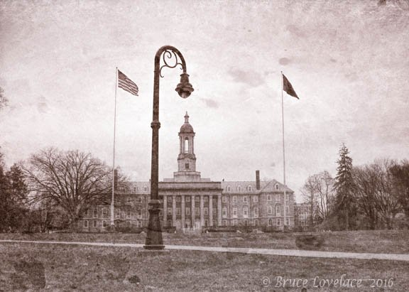 Penn State Travel Photo - Old Main Building